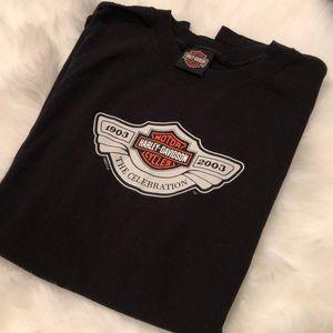 Harley Davidson anniversary T-shirt size xl